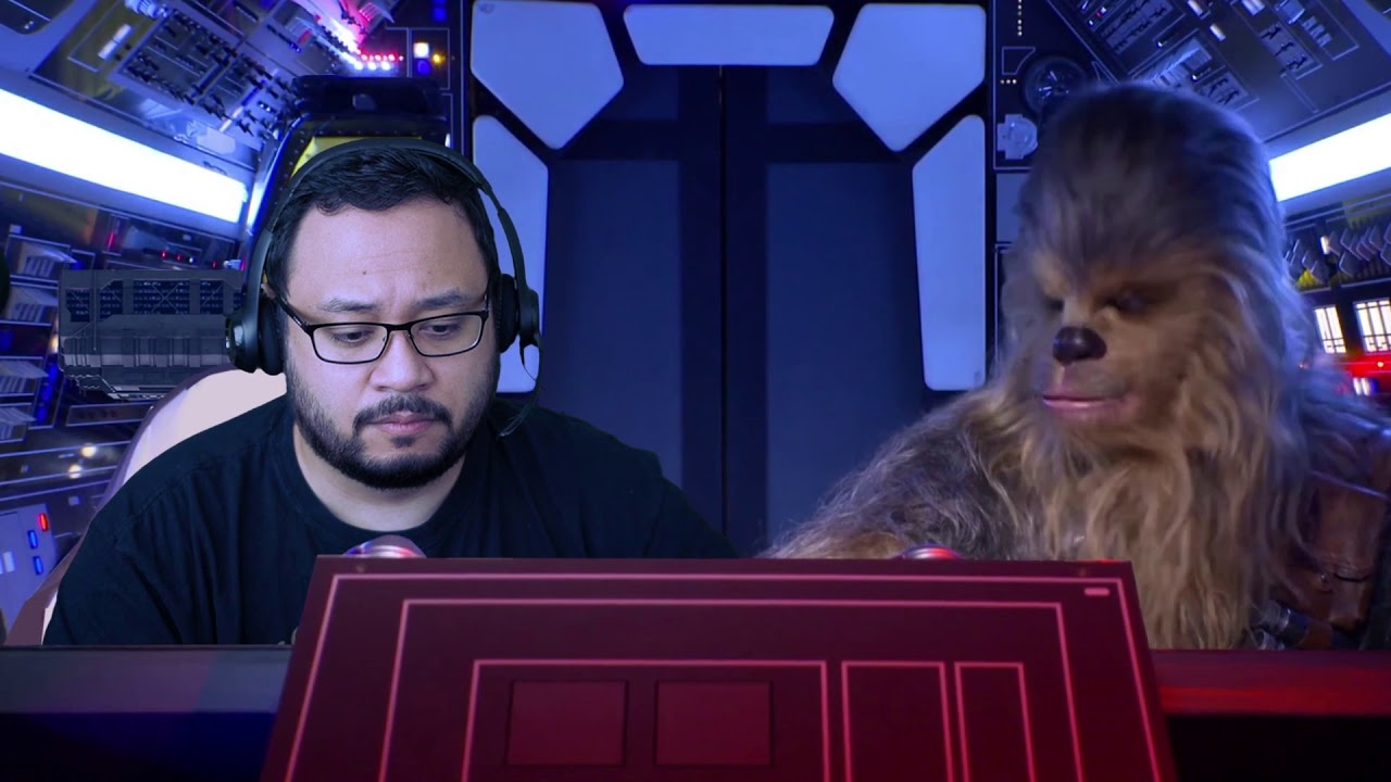 That S How I Show Up At Online Meetings Star Wars Millennium Falcon Virtual Background Youtube