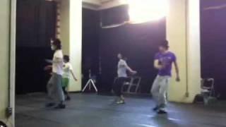 俵和也&桜木涼介によるユニットbaka2の稽古風景。 2011年7月に公演予...