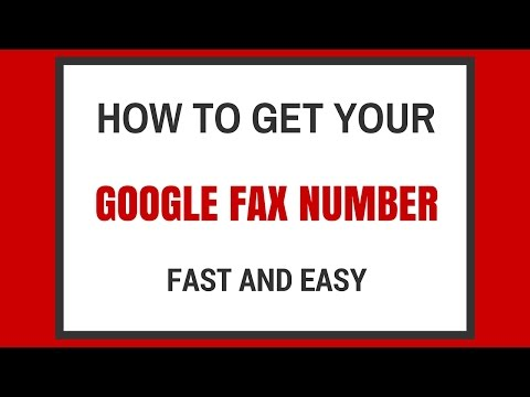 Google Fax Number - Quick and Easy