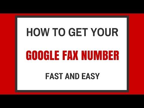 Google Voice Receive Fax