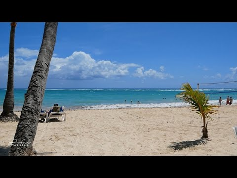 Beach and Ocean in Punta Cana Dominican Republic vacation