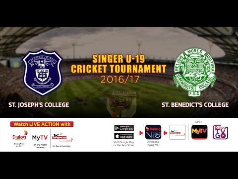 St. Joseph's College vs St. Benedict's College– Singer U19 Cricket Tournament 2016/17 – Day 2