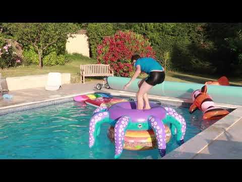 CAP OU PAS CAP PISCINE - On relève vos défis Instagram !