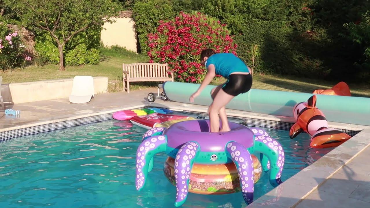 Cap ou pas cap piscine on rel ve vos d fis instagram for Swan et neo piscine