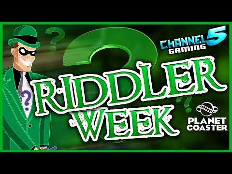 RAGNAROK! Thor vs Loki! Riddler Week Day 1: Coaster Spotlight 275  #PlanetCoaster