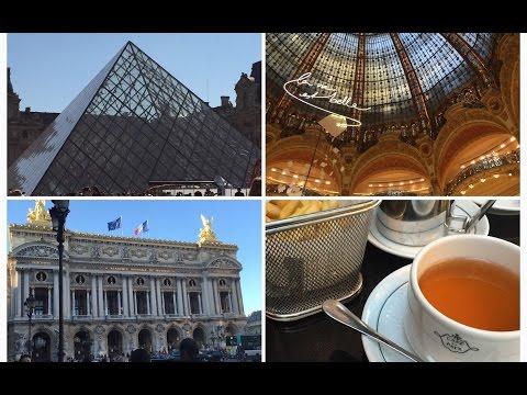 London,Paris Vacation - 2015 (Day 7 Vlog, The Louve, Montmartre & Galeries Lafayette)