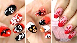 Маникюр на Хэллоуин: СТРАШНО красивые ногти в домашних условиях