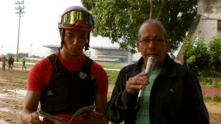Entrevista realizada a Luis Fontes Jr. para Meridiano Televisión.