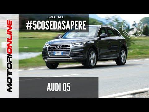 Audi Q5 2017 | Le 5 cose da sapere