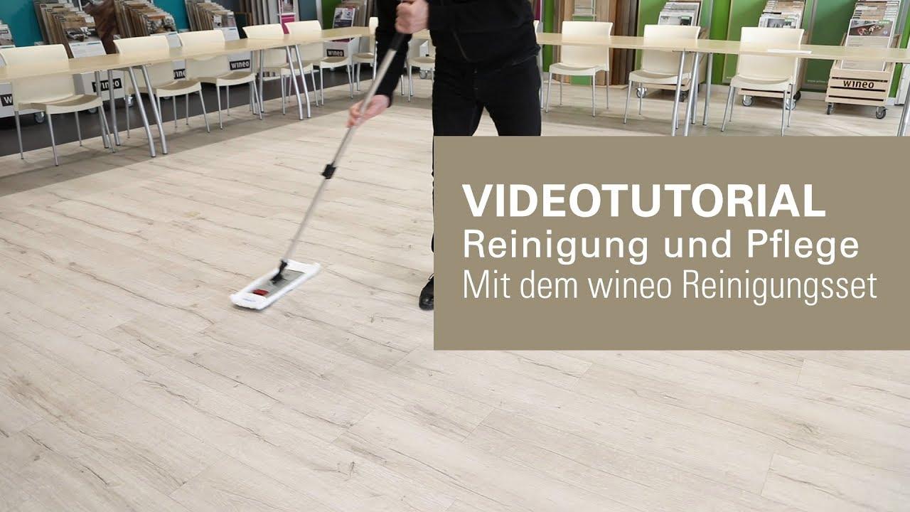 Fußboden Reinigen ~ Fussboden richtig reinigen mit dem wineo reinigungsset youtube