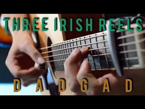 Celtic Fingerstyle Guitar - Three Irish Reels  - DADGAD
