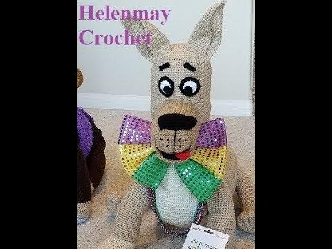 Crochet Large Great Dane Dog Part 2 of 3 DIY Video Tutorial
