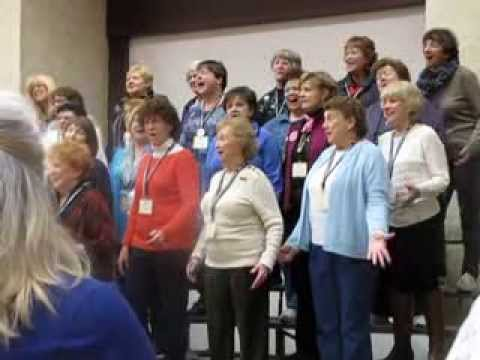 How We Sang Today 1 Region 17 Harmony Weekend with Cindy Hansen