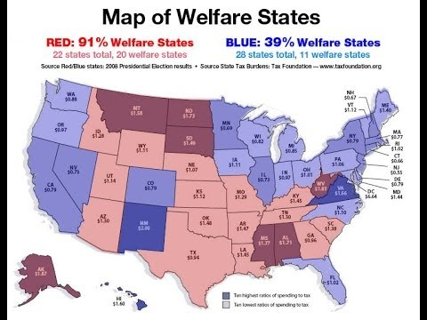 Which State Would You Like To Kick Out Of The US Page US - Welfare us map