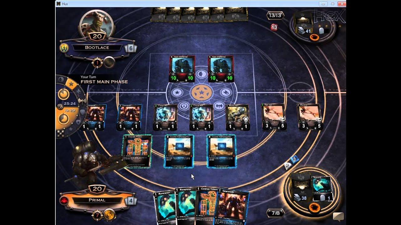 hex TCG matchmaking