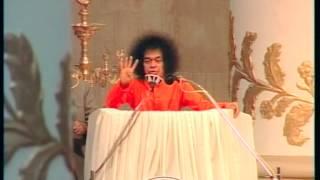 Inagural Address-Bhagawan Sri Sathya Sai Baba