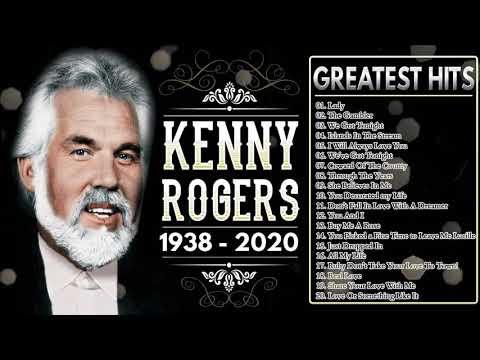 Kenny Rogers Greatest Hits Playlist 🎶 Best Songs Of Kenny Rogers 2020 🎶 Kenny Rogers 1938-2020