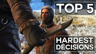Fallout 4 - Top 5 Hardest Decisions