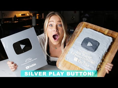 EATING MY SILVER PLAY BUTTON  Ft. Rie & Worth It! | Alix Traeger