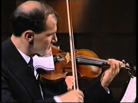 Michael Vaiman and Dina Yoffe play Stravinsky Italian Suite