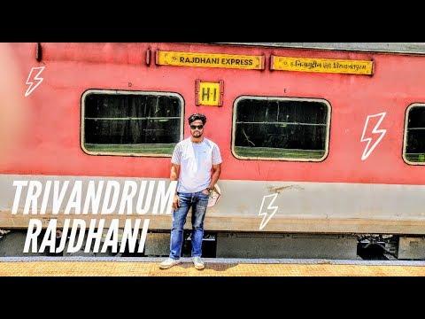 Trivandrum Rajdhani Express First Class Tvc Rajdhani Express Indian Railways