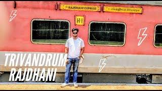 Trivandrum Rajdhani Express First Class Journey
