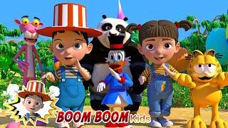 Animal Dance Song - Nursery Rhymes and Kids Songs | Boom Boom Kids