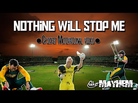 Cricket Motivation ★NOTHING WILL STOP ME★ ●HD●