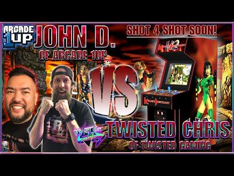 Arcade1Up Killer Instinct | John D Versus Twisted Chris SOON! Gaming News! from TwistedGamingTV