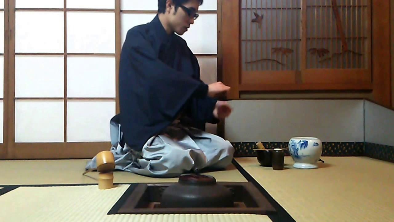 裏千家流炉濃茶運び点前Part.3(...
