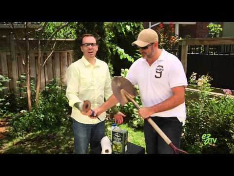 How To Maintain and Sharpen Garden Tools