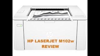 LaserJet Pro M102w Review EN