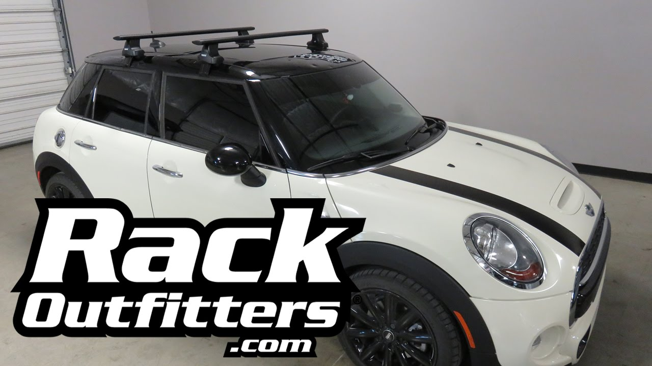 2016 Mini Hardtop 4 Door With Thule Aeroblade Roof Rack