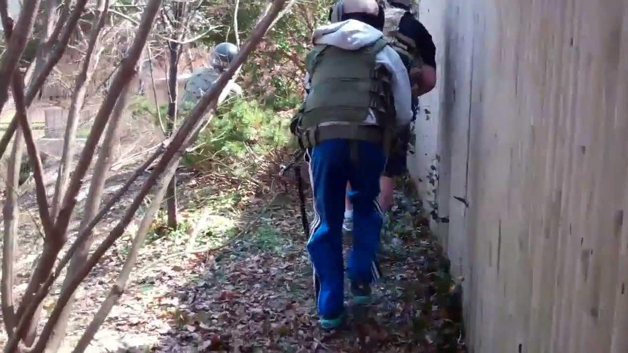 backyard airsoft bunker 3 v 5 bunker assualt 3 18 2012 youtube