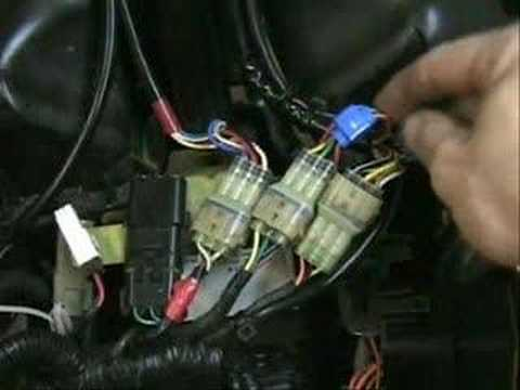 hqdefault can am headlight modification youtube 2008 can am renegade 800 wiring diagram at bakdesigns.co
