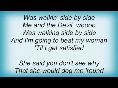 Robert Johnson - Me And The Devil Blues Lyrics