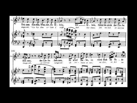 Ach, ich fühl's; Die Zauberflöte; Anna Moffo (with score)