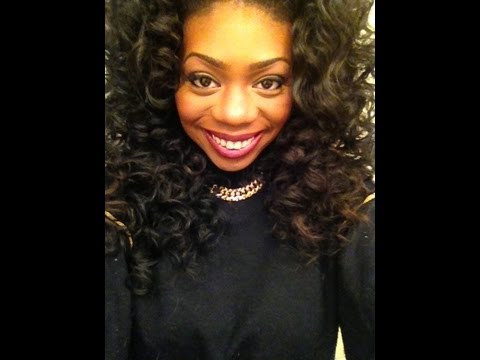 Fix Yo Hair Bantu Knot Out On Brazilian Hair Youtube
