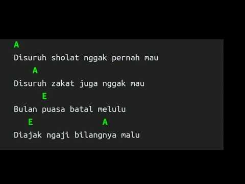 Wali - Bocah Ngapa yak (Chord dan Lirik) Lagu Religi terbaru 2018