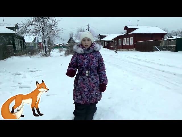Изображение предпросмотра прочтения – ЕленаСмирнова читает произведение «Ворона и Лисица» И.А.Крылова