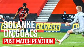 Solanke reacts to game changing goal 🔥 | AFC Bournemouth 4-1 Leicester City