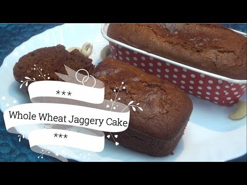 Whole Wheat Jaggery Cake | Organic Cake