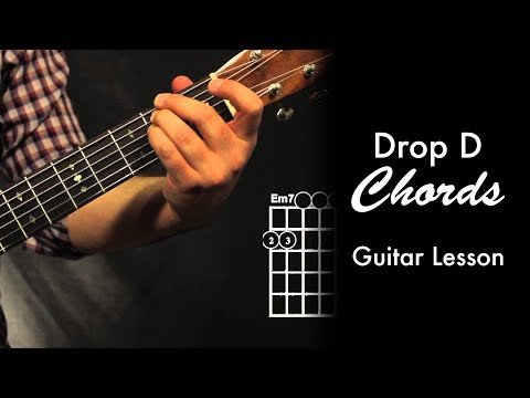 Drop D Chord Shapes