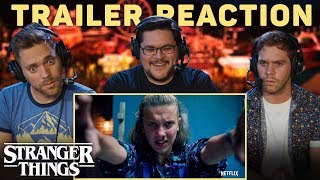 STRANGER THINGS 3 Final Trailer Reaction