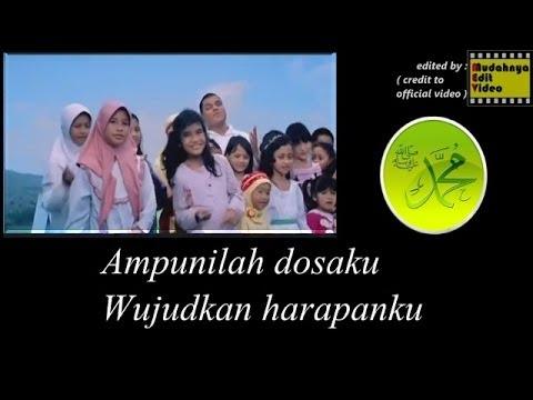 Rindu Muhammadku dengan lirik