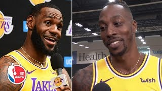 Dwight Howard never thought he and LeBron James would play on the same team | NBA on ESPN