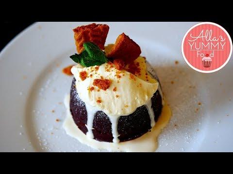 Baileys Chocolate Lava Cake Recipe | Christmas Recipes