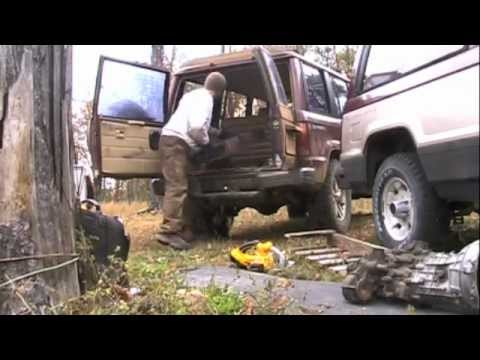 Isuzu Trooper Old School Transmission Removal