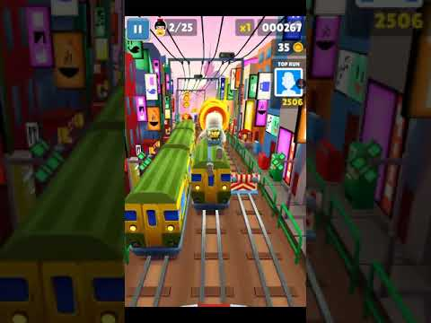 Subway surfers///01#  And FLAMING Parkour!!!  🔥🔥🔥🔥🔥
