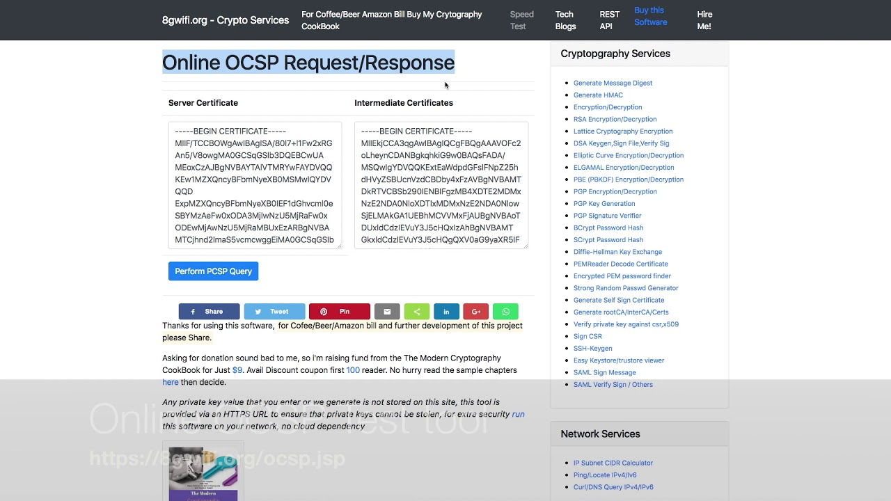 ocsp tutorial openssl ocsp query